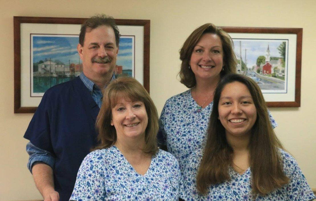 Picture of the office staff at Dr. James A. Vette, DDS, a dentistry practice in Germantown, MD